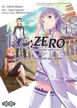 Re:Zero - Premier arc : Une journée à la capitale T.1