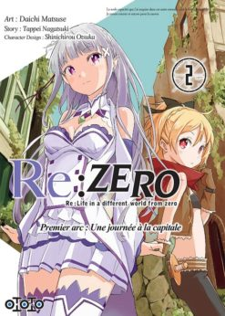 Re:Zero - Premier arc : Une journée à la capitale T.2