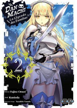DanMachi - La Légende des Familias T.2 (Manga)