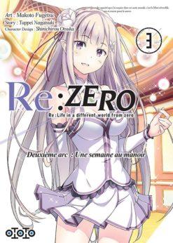 Re:Zero - Deuxième arc T.3 (Manga)