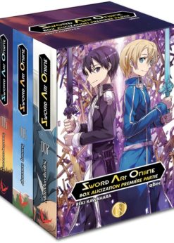 SAO Box Alicization 1ère Partie (Roman)