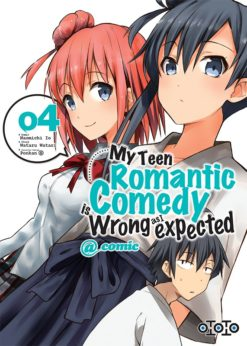 My Teen Romantic Comedy is wrong as I expected T.4 (manga)
