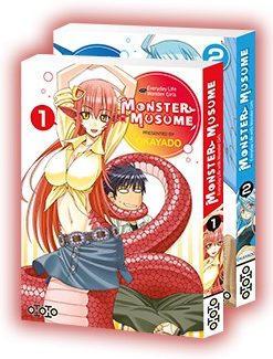 Monster Musume (Pack 2 pour 1)